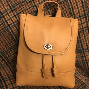 Coach Vintage Wheat Backpack
